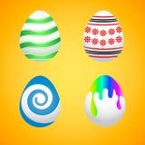 Uova di Pasqua Uova di Pasqua per le vacanze di Pasqua Royalty Illustrazione gratis