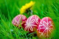 Uova di Pasqua, ¡ s del tojà di Húsvéti fotografia stock