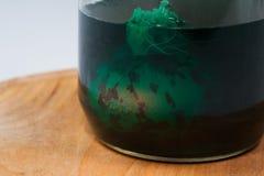 Uova di Pasqua, tecnica speciale con la buccia della cipolla Fotografia Stock Libera da Diritti