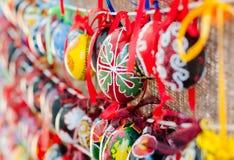 Uova di Pasqua Ucraine immagine stock