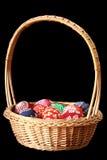 Uova di Pasqua Variopinte Fotografia Stock