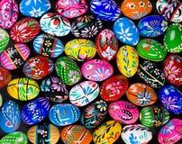 Uova di Pasqua Verniciate Fotografia Stock Libera da Diritti