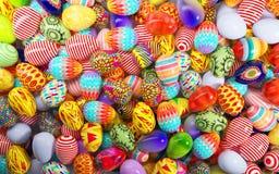 Uova di Pasqua verniciate Immagini Stock