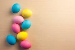 Uova di Pasqua verniciate Fotografie Stock
