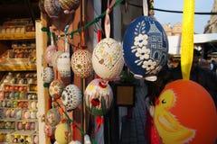 Uova di Pasqua verniciate immagini stock libere da diritti