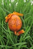Uova di Pasqua Verniciate variopinte Fotografie Stock Libere da Diritti