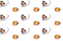 Uova di quaglie Immagini Stock