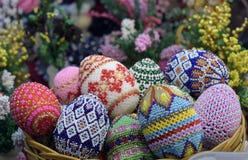 Uova di Toy Easter Fotografie Stock
