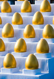 Uova dorate Fotografie Stock Libere da Diritti