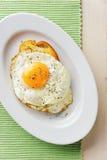 Uova fritte Fotografia Stock