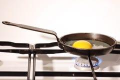 Uova fritte Fotografia Stock Libera da Diritti