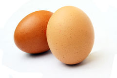Uova macchiate Fotografia Stock Libera da Diritti