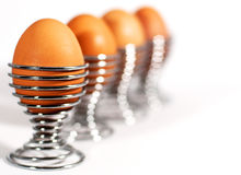 Uova per la prima colazione Fotografia Stock