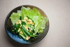 Uova rimescolate giapponesi, un Niratama Fotografie Stock Libere da Diritti
