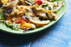 Uova rimescolate verdura Immagine Stock Libera da Diritti