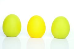 Uova variopinte Fotografia Stock Libera da Diritti