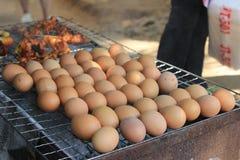 Uovo al forno Fotografia Stock