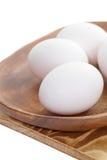 Uovo bianco Fotografia Stock Libera da Diritti