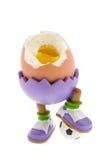 Uovo bollito duro Fotografie Stock Libere da Diritti