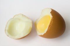 Uovo bollito duro Fotografia Stock Libera da Diritti