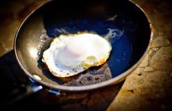 Uovo bruciato Fotografie Stock Libere da Diritti
