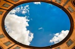 Uovo celeste fotografie stock libere da diritti