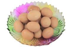 Uovo a colori la zolla Immagini Stock