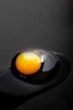 Uovo crudo Fotografia Stock