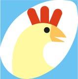Uovo del pollo Immagini Stock