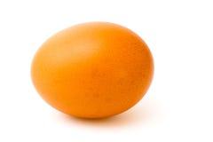 Uovo del pollo isolato Fotografia Stock