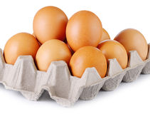 Uovo del pollo, uovo Fotografia Stock