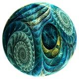 Uovo del rettile Fotografia Stock