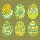 Uovo dell'ornamento di Pasqua Illustrazione di Stock