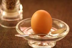 Uovo della prima colazione Fotografia Stock