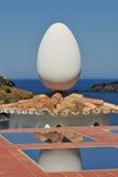 Uovo di Dali Fotografie Stock