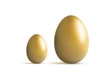 Uovo di nido dorato Fotografie Stock