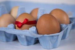 Uovo di offerta speciale di Pasqua Immagini Stock Libere da Diritti
