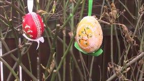 Uovo di Pasqua stock footage