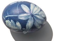 Uovo di Pasqua Blu Immagini Stock Libere da Diritti