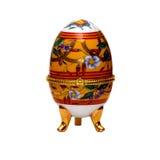 Uovo di Pasqua decorativo. fotografia stock