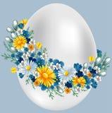 Uovo di Pasqua Dell'annata illustrazione vettoriale