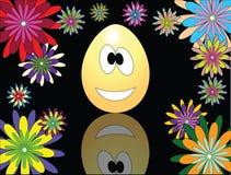 Uovo di Pasqua Divertente Immagini Stock Libere da Diritti