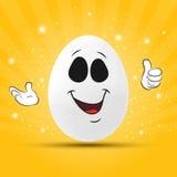 Uovo di Pasqua Divertente Immagine Stock