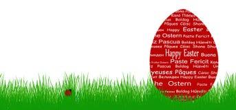 Uovo di Pasqua Felice Fotografie Stock