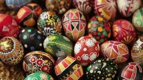 uovo di Pasqua 2016 felice stock footage