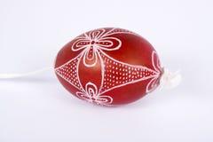 Uovo di Pasqua Handmade Fotografia Stock Libera da Diritti