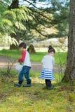Uovo di Pasqua Hunt Outdoors nell'Oregon Fotografie Stock