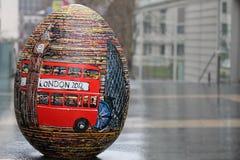 Uovo di Pasqua a Londra 2012 Fotografia Stock Libera da Diritti