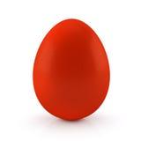 Uovo di Pasqua Rosso Fotografia Stock Libera da Diritti