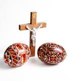 Uovo di Pasqua Rumeno Fotografia Stock